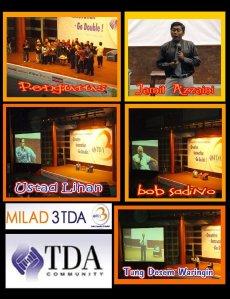 Milad TDA #3, 1 Maret 2009