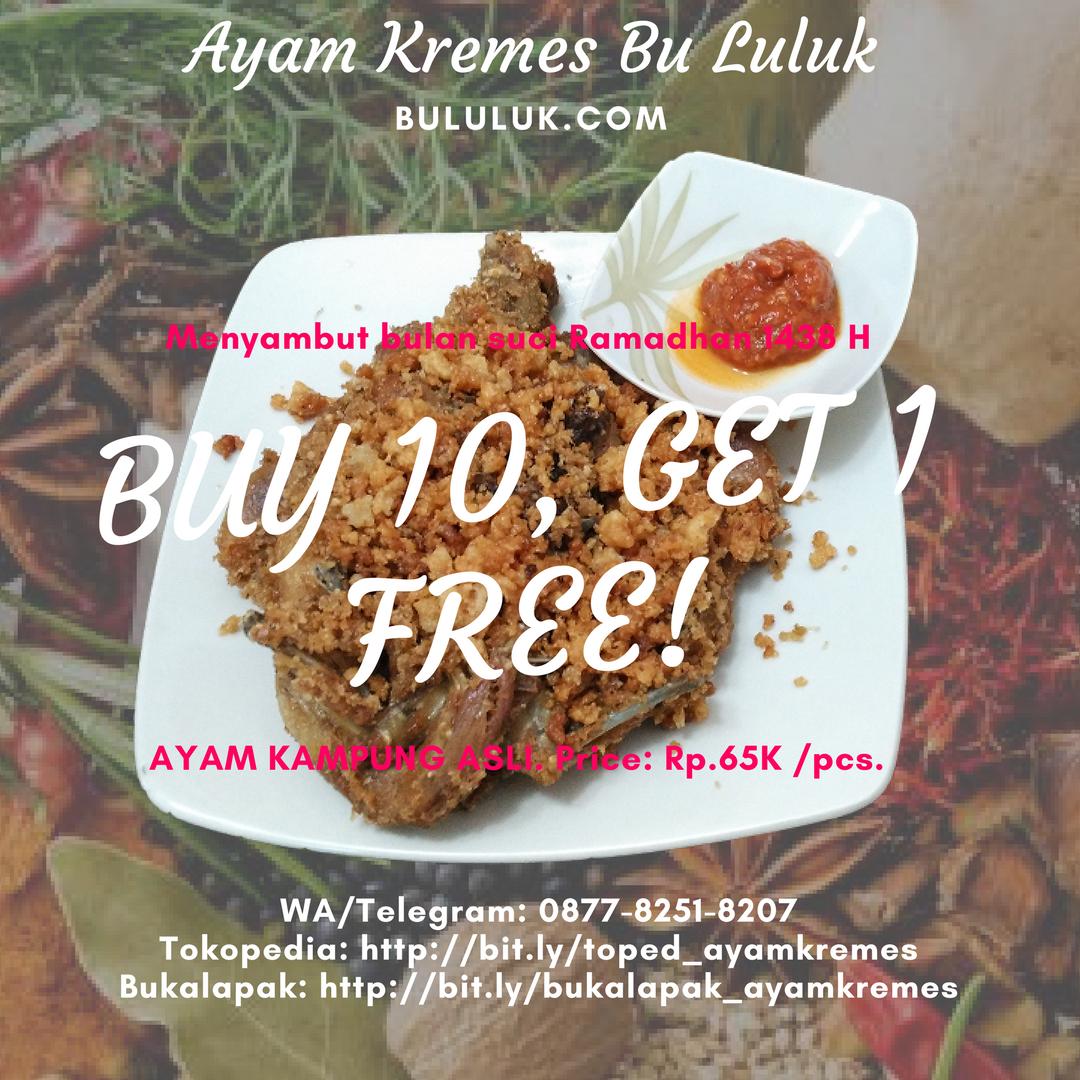 Kremes - Buy 10 get 1 Free