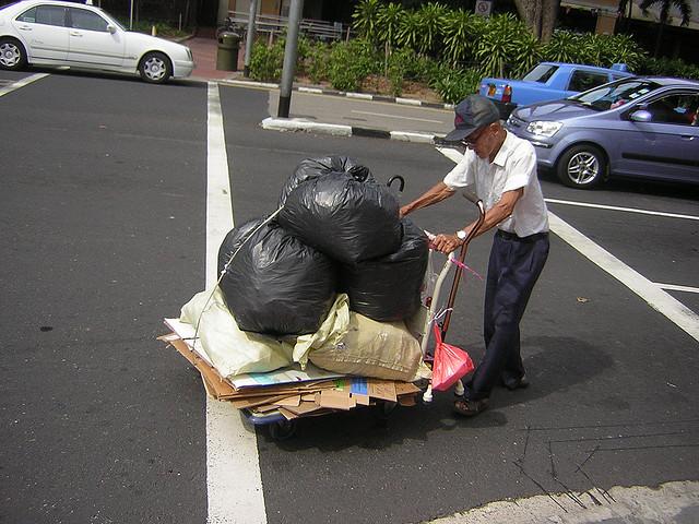 Hard Working Old Man, Singapore